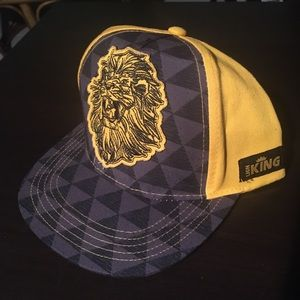 Boys The Lion King Disney Snap Back Hat New